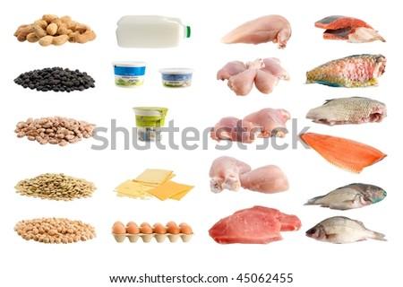 Protein - stock photo