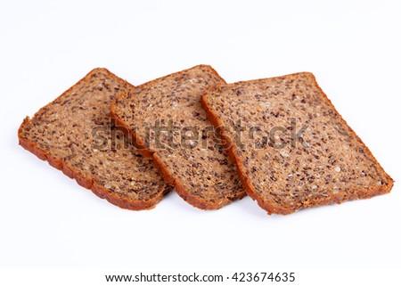 protein bread - stock photo