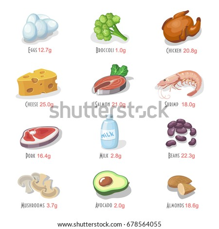 Protein Foods Stock Images, Royalty-Free Images & Vectors ...