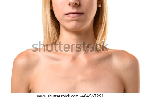 collar bone stock images, royalty-free images & vectors | shutterstock, Cephalic Vein