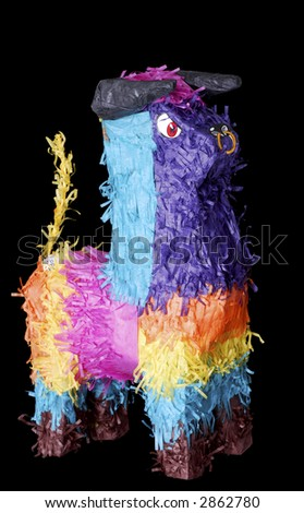 Proud Mexican Bull (Toro) Pinata for Cinco de Mayo - stock photo