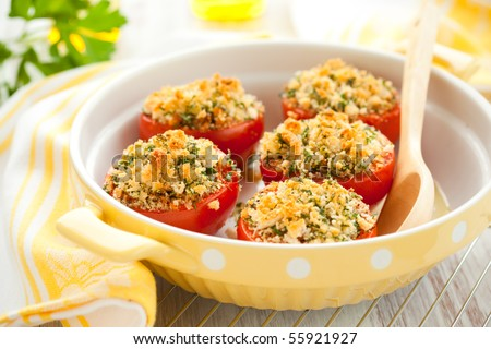 provencal style baked tomatoes