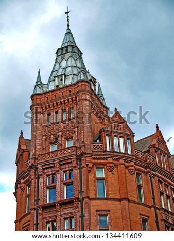 Prudential Building, Nottingham, designed by ALfred Waterhouse 1894