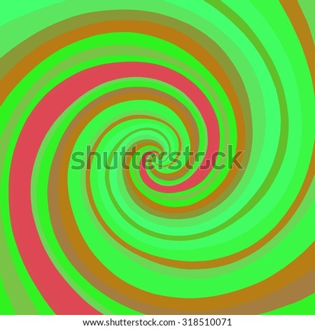 Psychedelic background radial abstract illustration