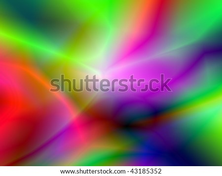 Psychedelic background with various colors. Illustration useful ad wallpaper - stock photo