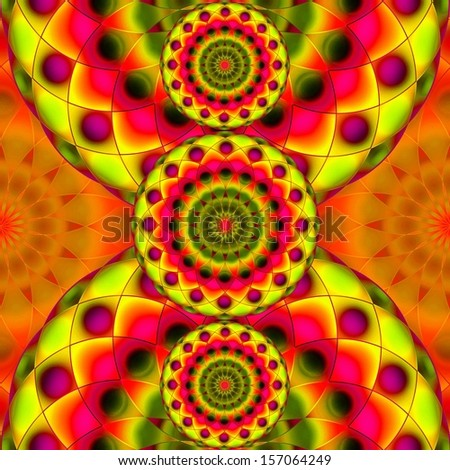 Psychedelic Visions - stock photo