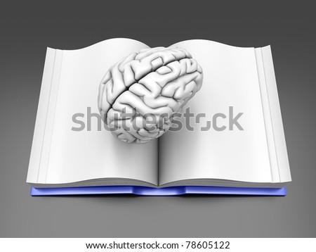 Psychologic / Psychiatric / Neurologic literature. - stock photo