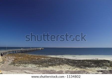 Pt. Victoria Seascape - stock photo
