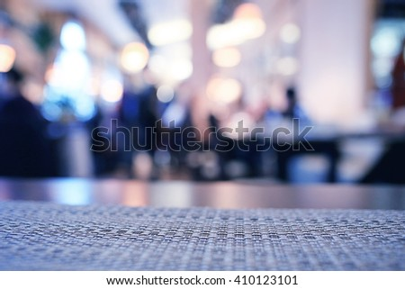 Pub blurred background bokeh bar restaurant - stock photo