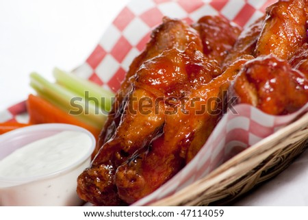 Pub Style Fried Chicken Wings