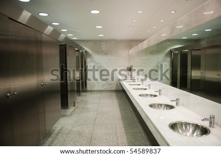 Public Bathroom Mirror public restroom stock images, royalty-free images & vectors