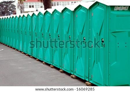 Public Restrooms - stock photo