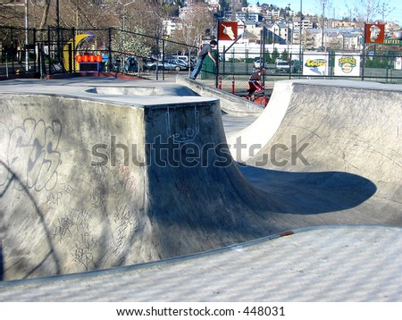 Public Skate Park in Seattle