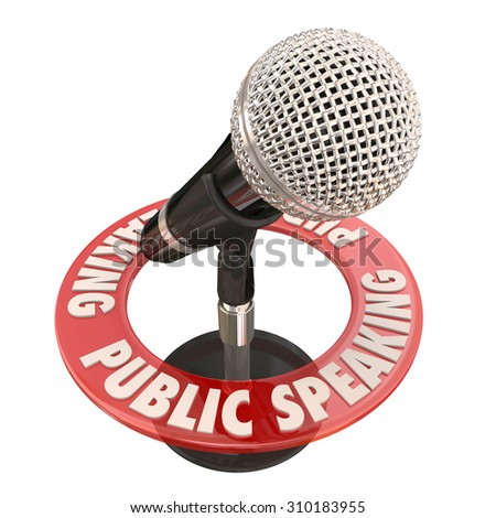 how to start a public speaking speech