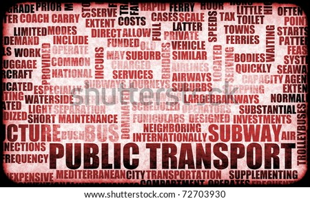 Public Transport Woes as a Concept Background