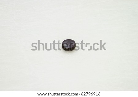puck - stock photo