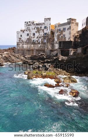 Puerto de la Cruz, Tenerife island - stock photo