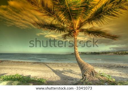 Puerto Plata - Caribbean - island - stock photo