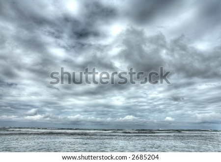 Puerto Plata - Caribbean  - ocean - stock photo