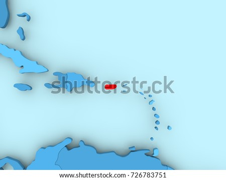 Map Puerto Rican Stock Images RoyaltyFree Images Vectors - Political map of puerto rico