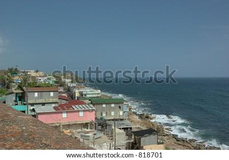 Puerto Rico Seaside - stock photo
