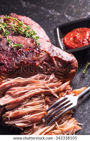 Pulled Pork - stock photo