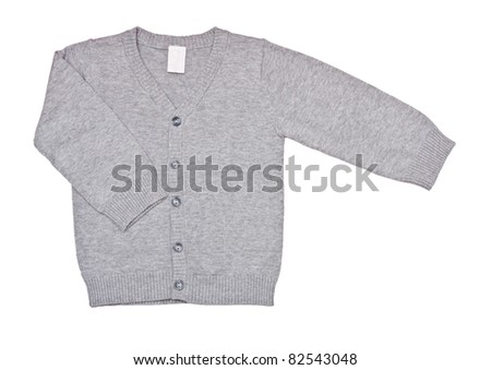 pullover for kid - stock photo