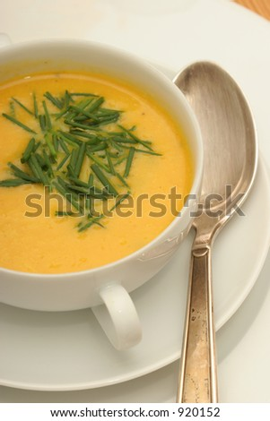 Pumkin Cream Soup