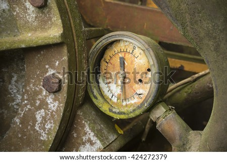 pump detail - stock photo