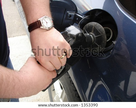 Pumping Gas into Car