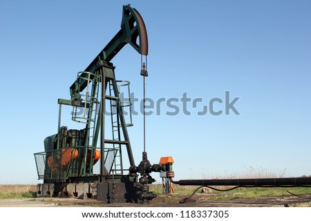pumpjack oil industry