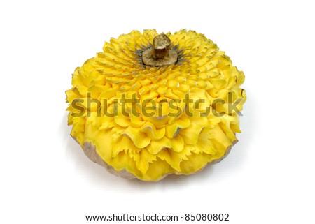 Pumpkin carving - stock photo