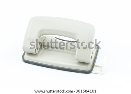 puncher on white background