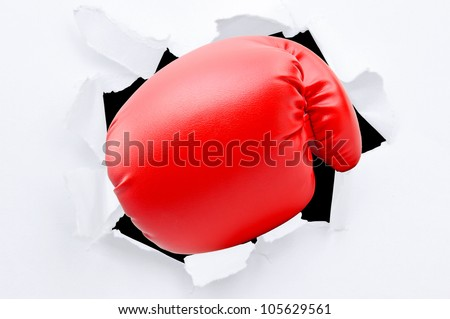 how to make paper boxing gloves
