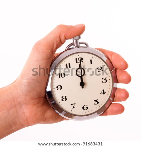 Punctuality - stock photo