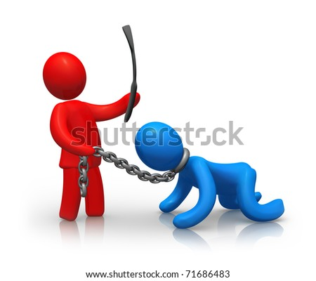 Punishment - stock photo