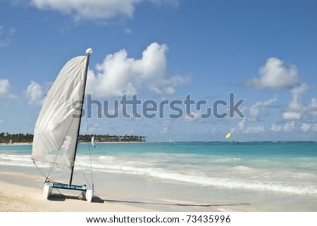 Punta-Cana, Dominican Republic - stock photo