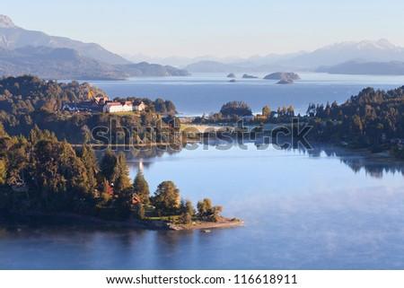 Punto panoramico, Bariloche, Argentina - stock photo