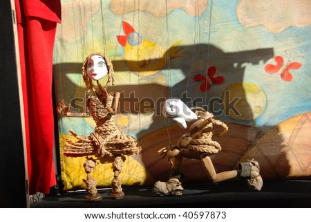 Puppet - stock photo