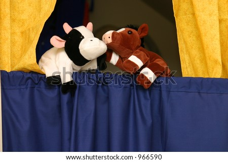 Puppet Theatre - stock photo