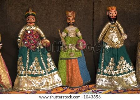 Puppets - stock photo