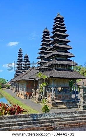 Pura Taman Ayun Temple In Bali island, Indonesia - stock photo