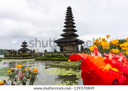 Pura Ulun Danu Bratan, Bali - stock photo