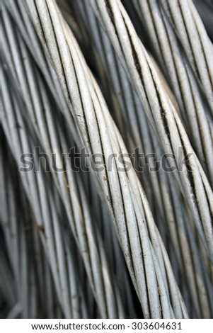 Pure aluminium wire used in the power industry