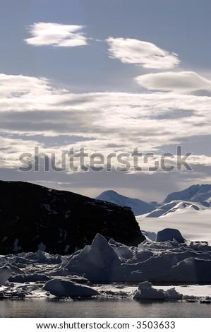 Pure Antarctica - stock photo