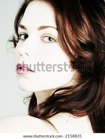 Pure Beauty - stock photo