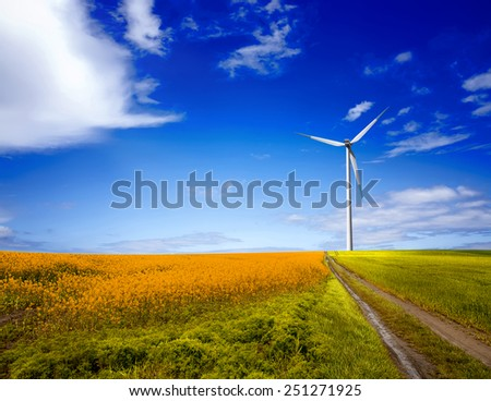 Pure energy - stock photo