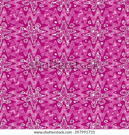 purple abstract background with ornamental geometric pattern
