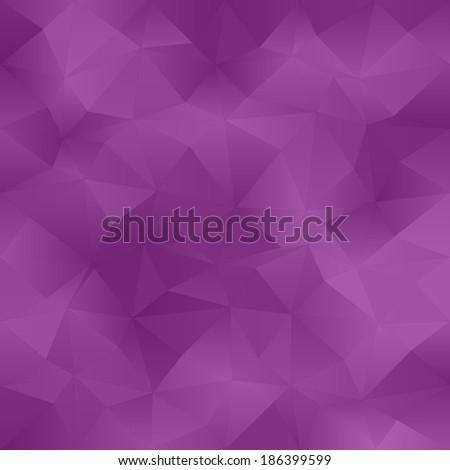 Purple abstract irregular triangle pattern background - jpg version  - stock photo