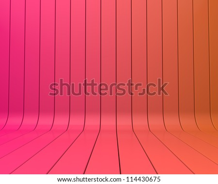 purple abstract stripe background - stock photo